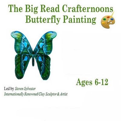 Big Read Crafternoons-Butterfly Painting Craft, Fo...