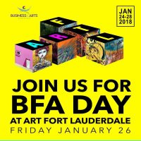 Art Fort Lauderdale to benefit Business for the Arts of Broward on BFA DAY