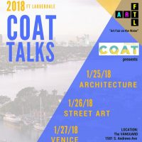 COAT TALKS - Architecture #Artworks