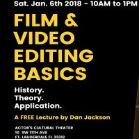Film & Video Editing Basics