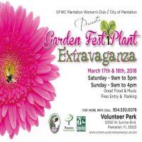 Garden Fest Plant Extravaganza 2018