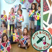 """Family-Friendly Painting Class - """"Abstract Angled ..."""