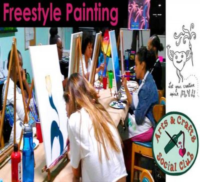 Freestyle Paint & Sip - Express Your Creative ...
