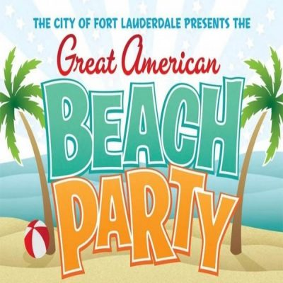 Great American Beach Party on Ft. Lauderdale Beach...