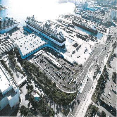 Port Everglades: Exterior Artwork for Cruise Terminal 25's Grand Plaza