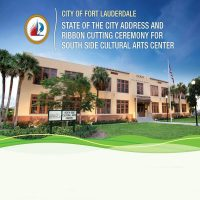 State of the City and South Side Cultural Arts Center Ribbon Cutting
