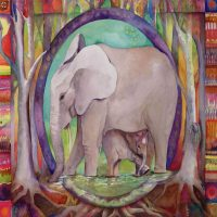 Art For Elephants Gallery Reception