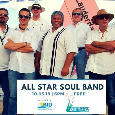 Friday Night Sound Waves presents All Star Soul Band