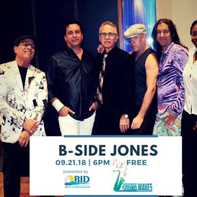 Friday Night Sound Waves presents B-Side Jones