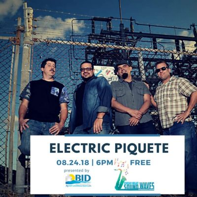 Friday Night Sound Waves presents Electric Piquete
