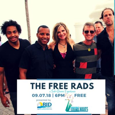 Friday Night Sound Waves presents Free Rads