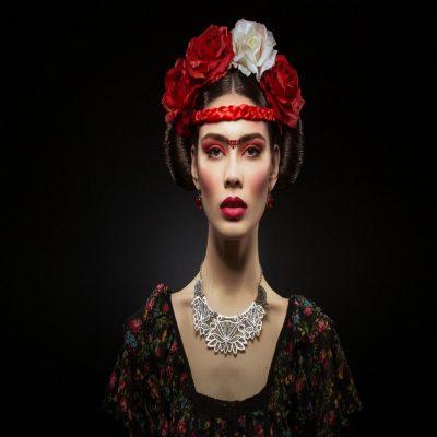 Frida by ROBERT XAVIER RODRIGUEZ
