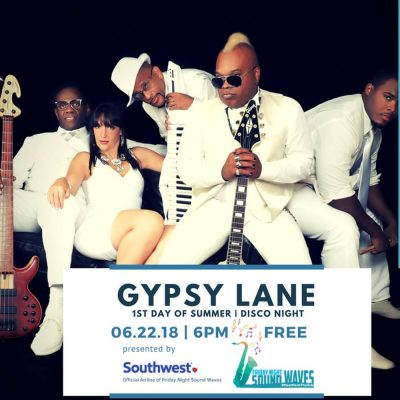 Friday Night Sound Waves presents Gypsy Lane