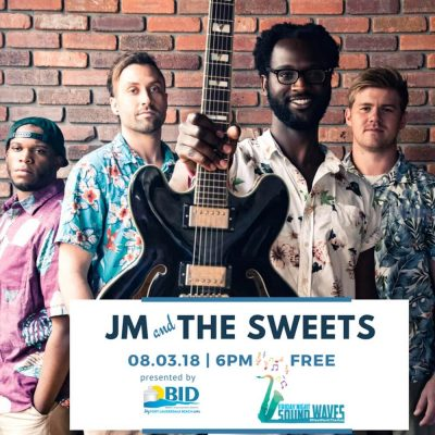 Friday Night Sound Waves presents JM and the Sweets