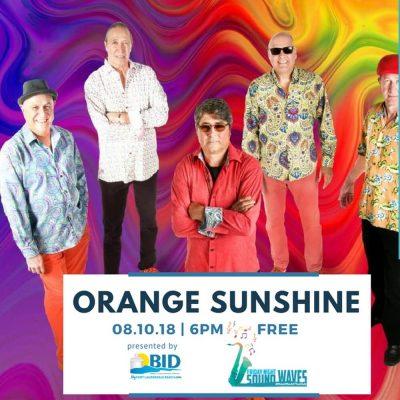 Friday Night Sound Waves presents Orange Sunshine