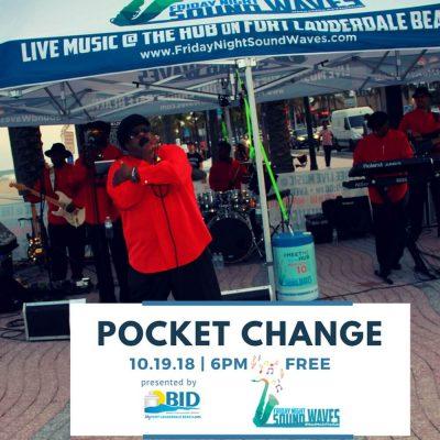 Friday Night Sound Waves presents Pocket Change