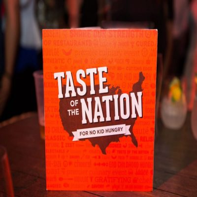 30th Annual Taste of the Nation for No Kid Hungry