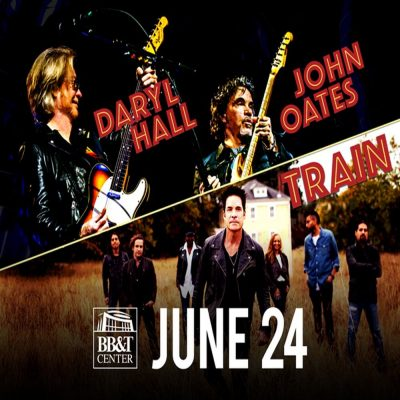 Daryl Hall & John Oates and Train