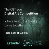 CGTrader's Digital Art competition 2018