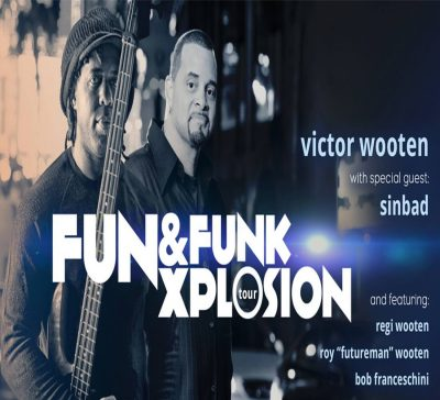 Victor Wooten Band with special guest Sinbad
