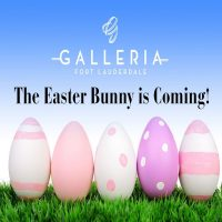 Easter Bunny Hops Into The Galleria At Fort Lauderdale's Spring Garden