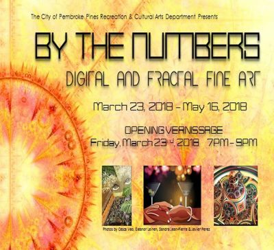 By The Nunmers: Digital Fine Art - OPENING VERNISSAGE