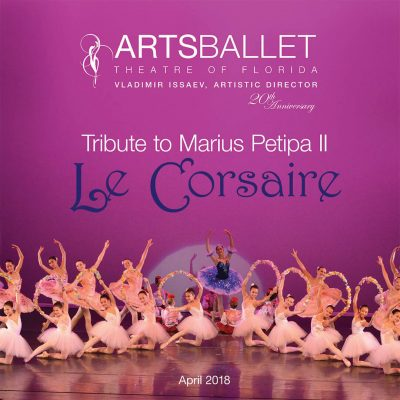 Swan Lake, Don Quixote, Le Corsaire