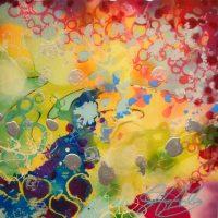 Art Opening   Imaginary Conversations by Jennifer Haley by Village Design Art Gallery