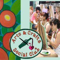 "BYOB Painting Class - ""Round Flowers"""