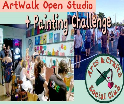 ArtWalk with Painting Challenge