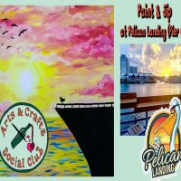 Paint & Sip OFFSITE at Pelican Landing (Pier 66)