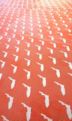 April Repeat Screen Printing for Fabric with Nick ...