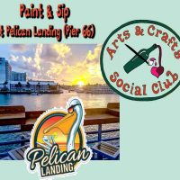 Paint & Sip OFFSITE at Pelican Landing