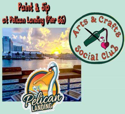 Paint & Sip OFFSITE at Pelican Landing