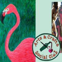"BYOB Painting Class - ""Pink Flamingo"""