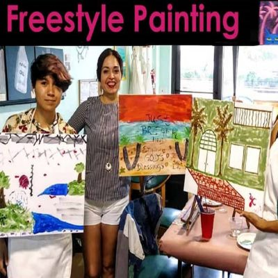 Freestyle Paint & Sip - Express Your Creative Vision