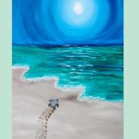 "BYOB Painting Class - ""Sea Turtle: The Long Journey"""
