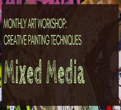 Monthly Art Workshop: Creative Painting Techniques...
