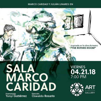 LECTURA DRAMATIZADA: SALA MARCO CARIDAD