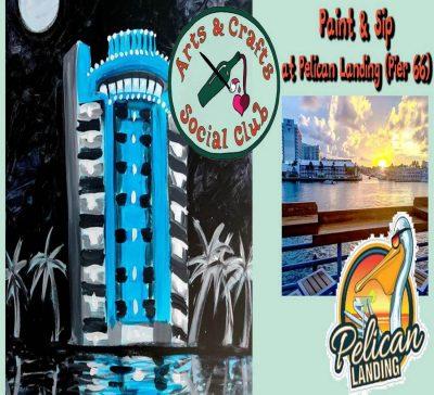 Paint & Sip OFFSITE at Pelican Landing (Pier 66)