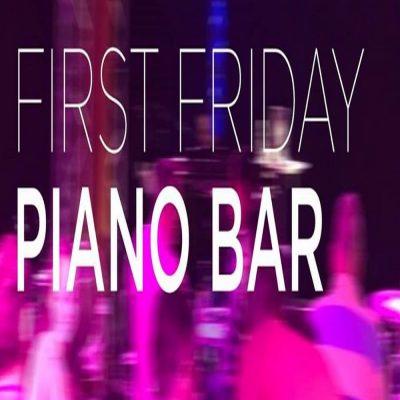 First Friday, Piano Bar at Studio Z
