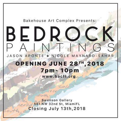 Bedrock: Paintings by Jason Aponte and Nicole Maynard-Sahar