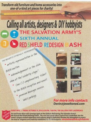 The Salvation Army's Red Shield ReDesign Bash - ArtsCalendar.com on