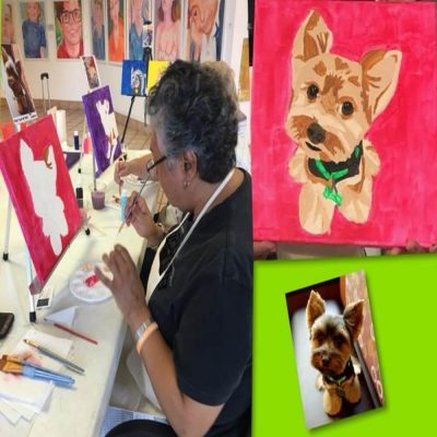 Paint Your Pet Party!