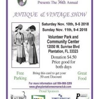 36th Annual Antique and Vintage Show