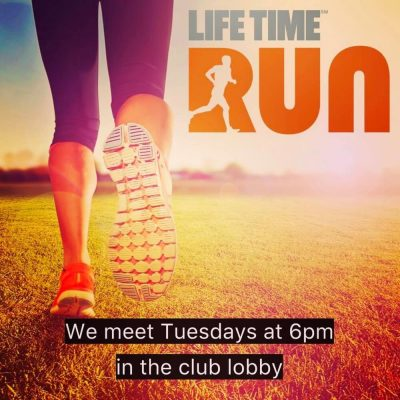 Run with Life Time Boca's Weekly Run Club