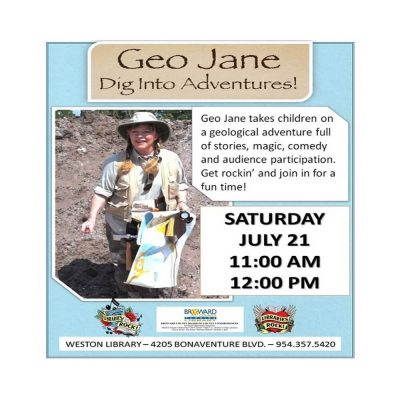 Geo Jane - Dig Into Adventures!