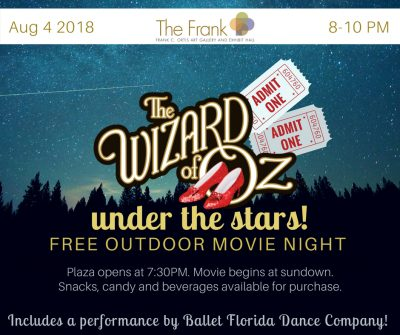 The Wizard of Oz Outdoor Movie Night