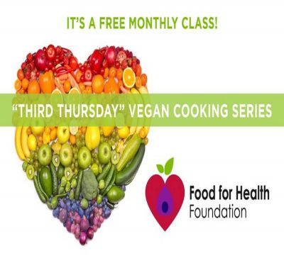 Third Thursday, Vegan Cooking Series