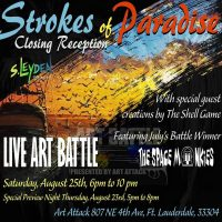 Strokes of Paradise: Closing Reception